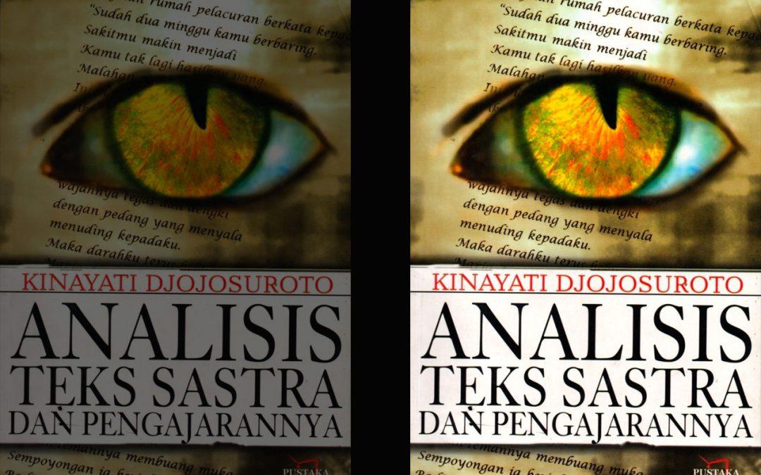 Analisis Teks Sastra dan Pengajarannya